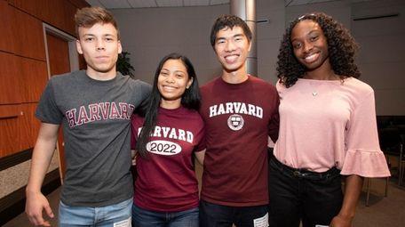 Long Island valedictorians who will attend Harvard in