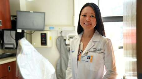 Dr. Theresa Fan, a dentist at Northwell, in