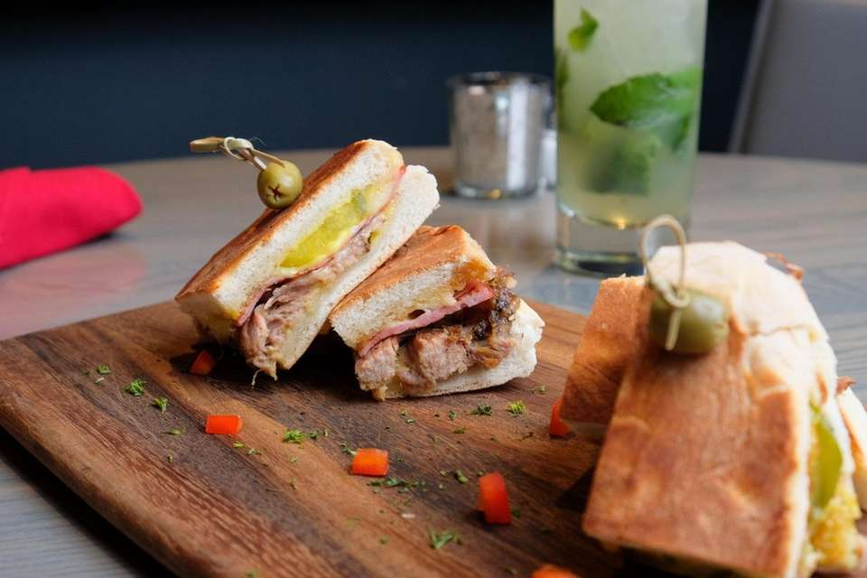 Cubano sliders at ArToro Restaurant & Tequila Bar