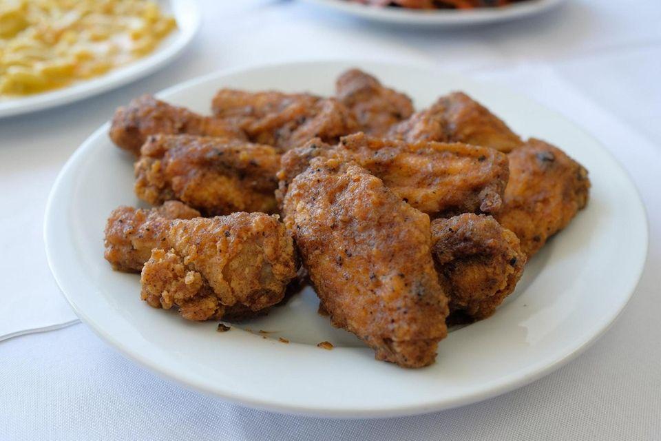 Addy's BBQ (799 Elmont Rd., Elmont): Jerk-flavored chicken