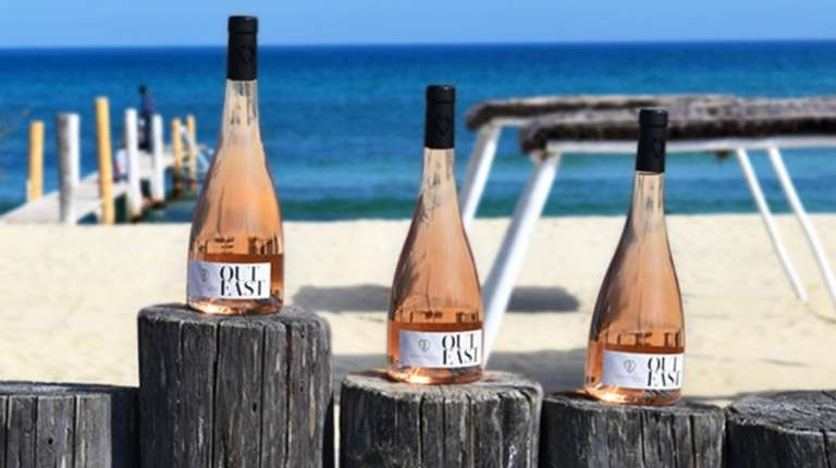 The 2017 Out East Rosé is the newest