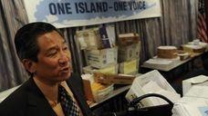 Wendell Chu, the Suffolk County School Superintendents Association