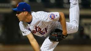 Mets pitcher Seth Lugo delivers in the eighth