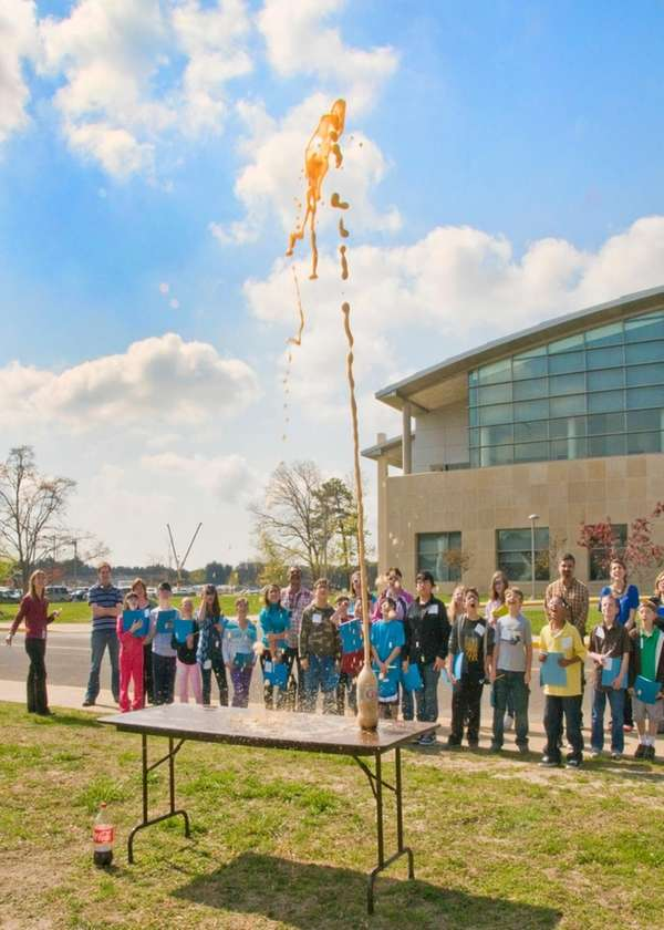Children of staffers at Brookhaven National Laboratory in