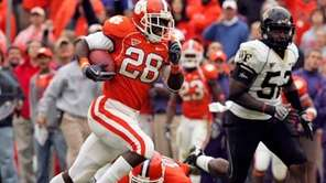 Clemson running back C.J. Spiller is one player