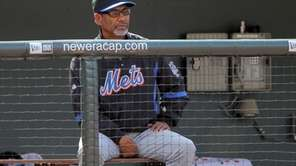Until the Mets start hitting better, Jerry Manuel's