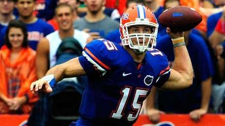TIM TEBOW, Florida As a highly touted freshman,