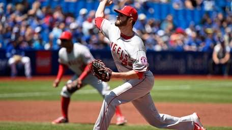Angels pitcher Nick Tropeano gave up just one