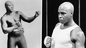 Jack Johnson, left, and James Earl Jones as