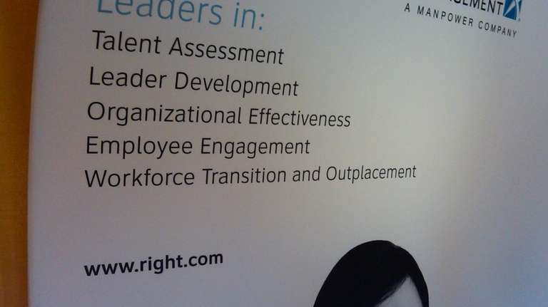Right Management sign at HR Conference