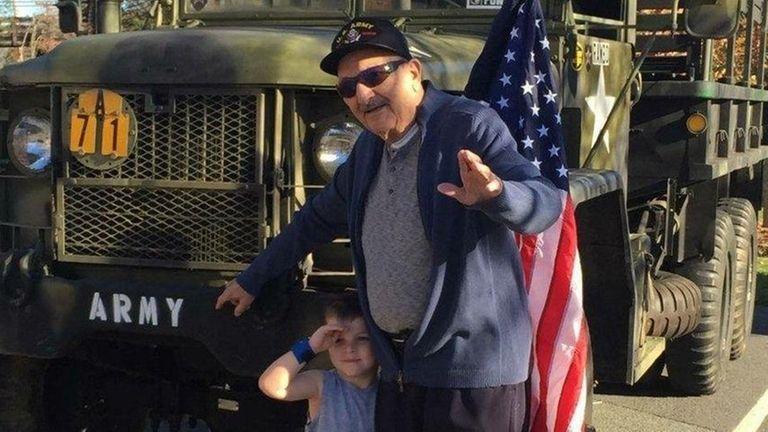 Anthony Scotto, a World War II infantryman who