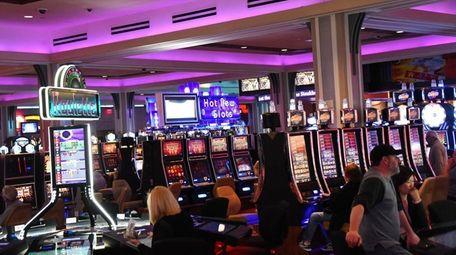Video lottery terminals at Resorts World Casino at