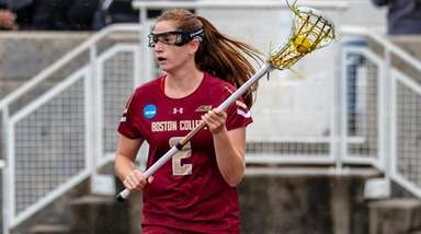 Boston College's Sam Apuzzo had three goals and