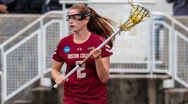Boston College's Sam Apuzzo had three goals and