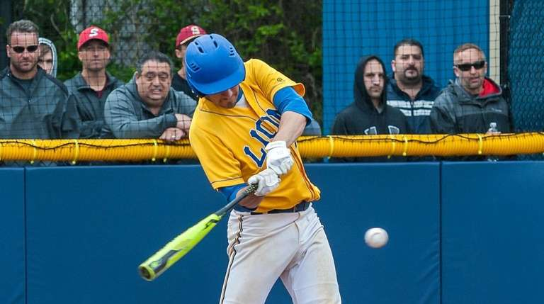 West Islip Anthony Cinquemani triples in two runs