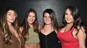 From left Kim Gentry, Victoria Romano, Tori Garcia