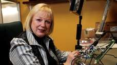Adrienne Giannone of Edge Electronics poses with the