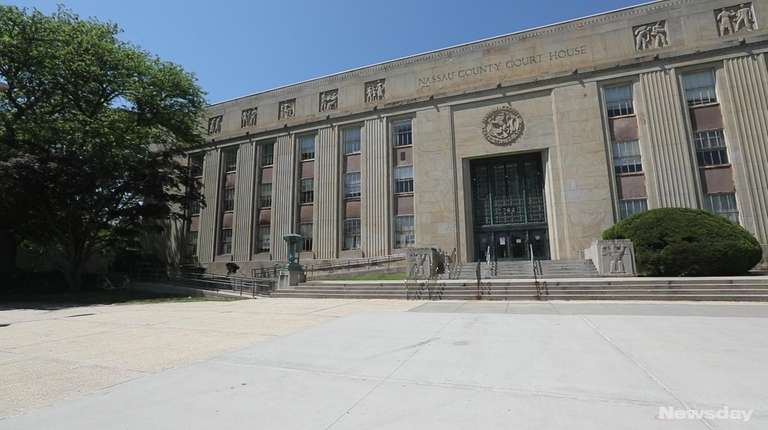 The Nassau County Court Building on Old Country