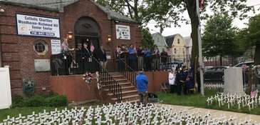 The Woodhaven American Legion pays tribute to Air