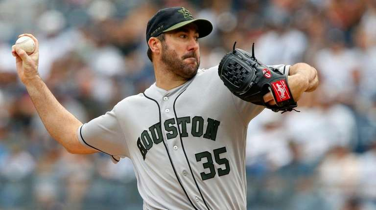 new concept 7d638 472e3 Justin Verlander shows Yankees what they missed | Newsday