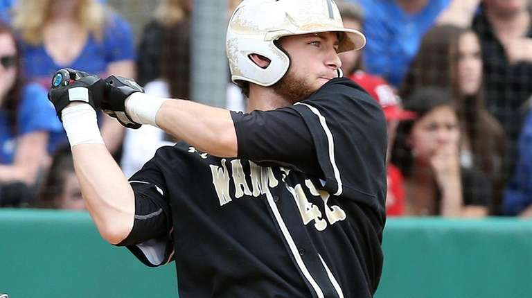 Wantagh's Patrick Willix gets a hit and two