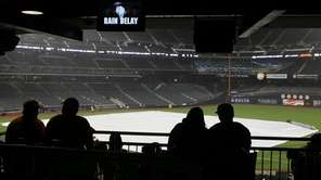 Monday's Mets-Dodgers game at Citi Field was rained