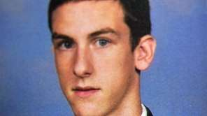 Chaminade High School yearbook photo of Sean Finnegan,