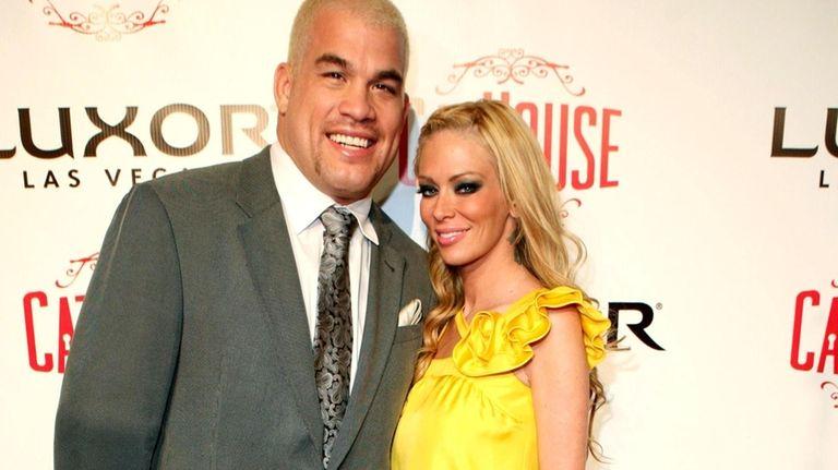 Tito Ortiz and Jenna Jameson in Las Vegas.