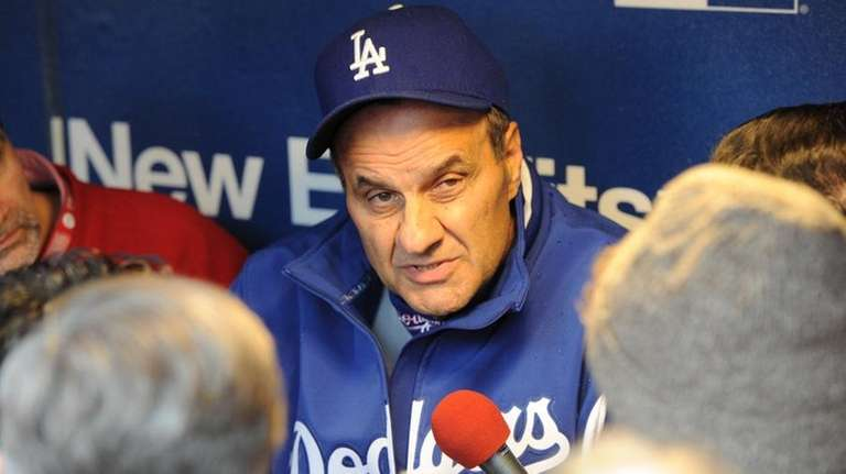 Dodgers manager Joe Torre has had his struggles