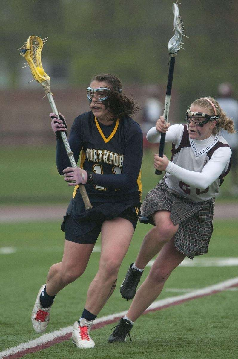 Northport's Shannon Gilroy drives to the goal as