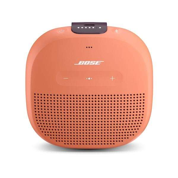 Great for listening on-the-go, the waterproof SoundLink Micro