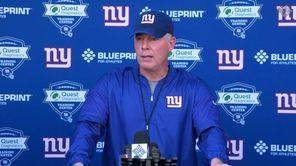 Giants head coach talks about the team's OTA