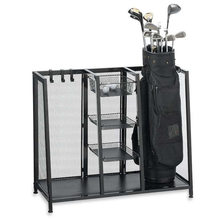 Keep all your golf equipment neat and organized