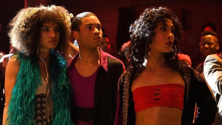 Indya Moore as Angel, Ryan Jamaal Swain as