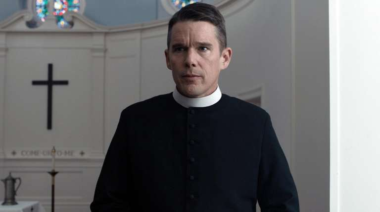 "Ethan Hawke in a scene from ""First"