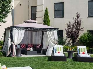 Luxurious cabanas being offered for rent through Labor