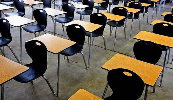 File photo of an empty classroom. Long Island