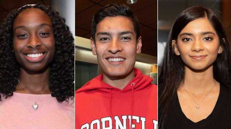 Alexandrea Harriott, Patrick Cruz and Saraf Faruk are