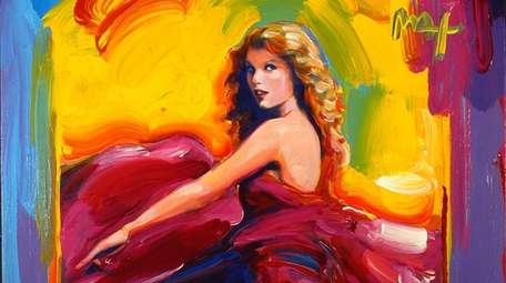 Peter Max's talents are apparent in his portrait