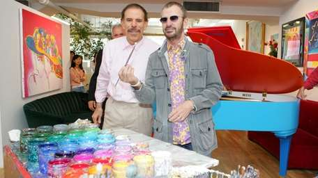 Peter Max, who has had many connections with