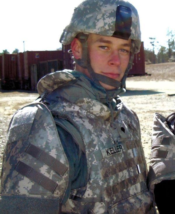 Spc. Jonathan Keller, 29, a Long Island member