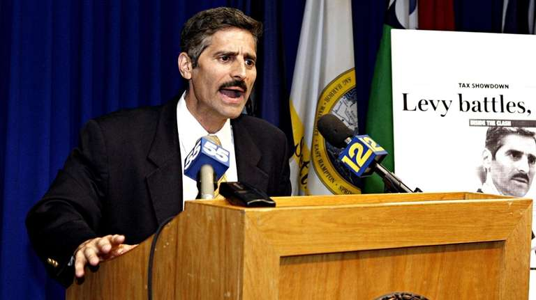 In June of 2007, Suffolk County Executive Steve