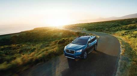 The 2019 Subaru Ascent is a three-row, eight-passenger