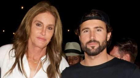 Caitlyn Jenner and Brody Jenner attend the Brandon