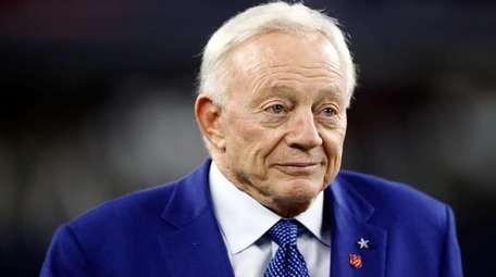 Dallas Cowboys owner Jerry Jones is seen Nov.