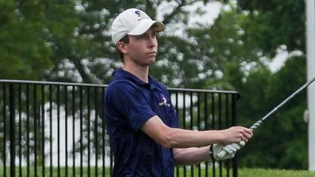Sayville's Brendan Smith competes in the Long Island