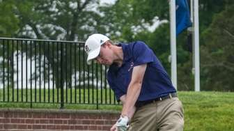 Sayville's Sean Haselton competes in the Long Island