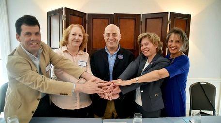 David Pechefsky, Kate Browning, Perry Gershon, Elaine DiMasi