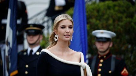 White House adviser Ivanka Trump has received favorable