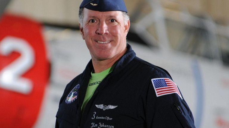 Ken Johansen, 52, first flew with the Skytypers